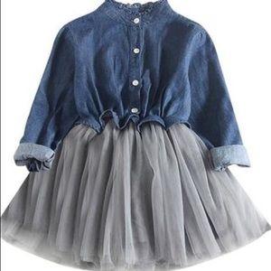Other - Toddler Denim Tutu Dress